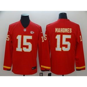 Kansas City Chiefs Patrick Mahomes Long Jersey